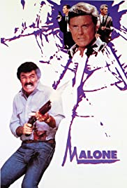 Malone (1987) Poster - Movie Forum, Cast, Reviews