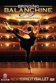 Bringing Balanchine Back Poster