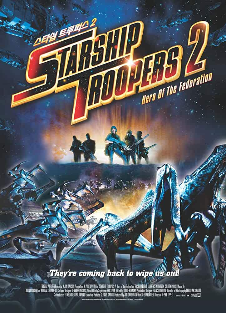Starship Troopers 2 2004 Hindi Dual Audio 480p BluRay 300MB