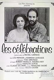 Les célébrations Poster