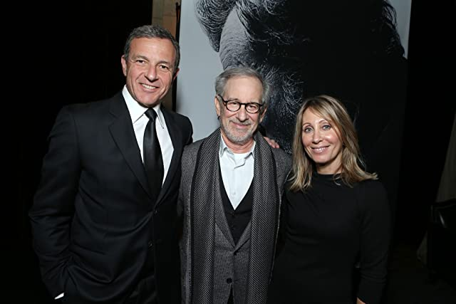 Steven Spielberg, Robert A. Iger, and Stacey Snider at Lincoln (2012)