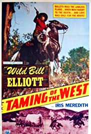 Taming of the West Poster