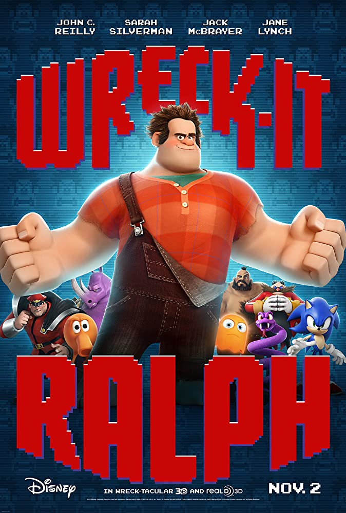 Wreck-It Ralph (2012) Cover