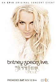 Britney Spears Live: The Femme Fatale Tour Poster