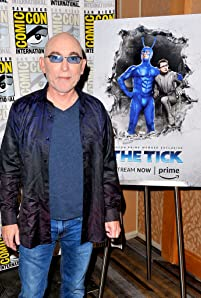 Jackie Earle Haley at an event for The Tick (2017)