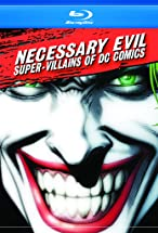 Primary image for Necessary Evil: Super-Villains of DC Comics