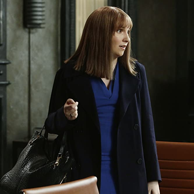 Lena Dunham in Scandal (2012)