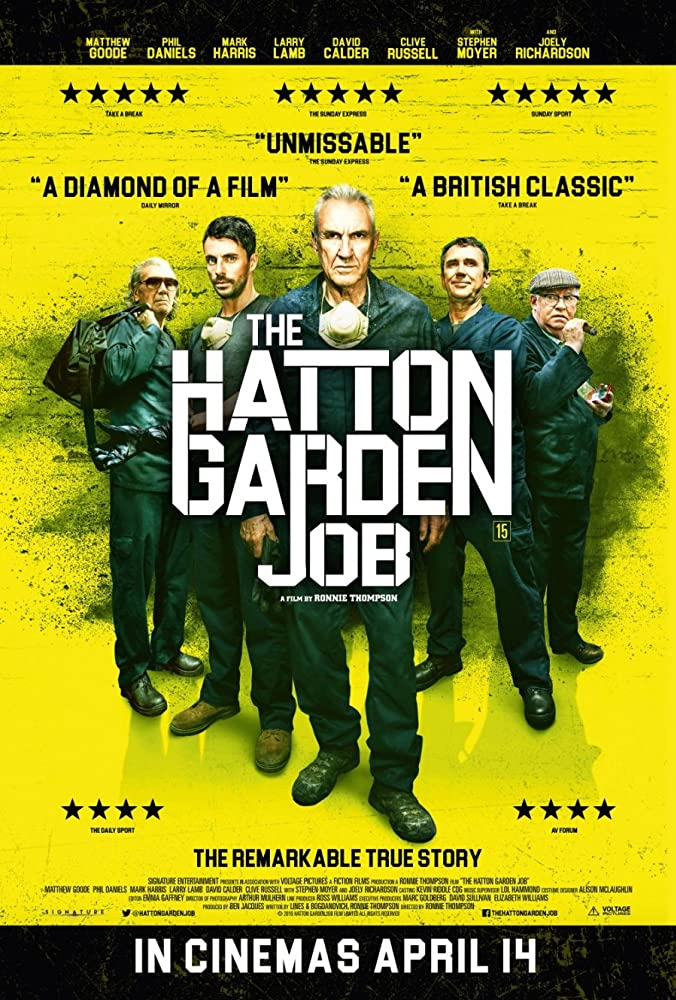 The Hatton Garden Job 2017 720p HEVC BluRay x265 400MB