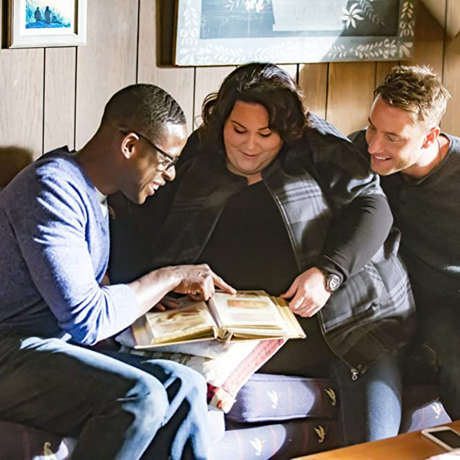 Sterling K. Brown, Justin Hartley, and Chrissy Metz in This Is Us (2016)