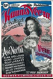 Kaunis Veera eli ballaadi Saimaalta Poster