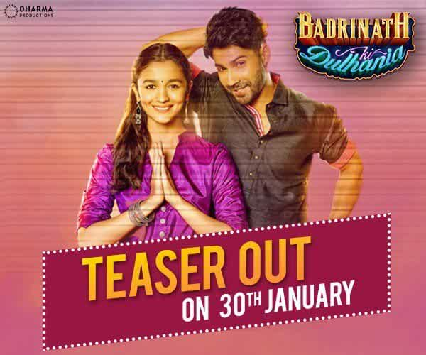 Badrinath Ki Dulhania 2017 Full Movie - Official Teaser | Karan Johar | Varun Dhawan | Alia Bhatt Watch Online Free Download