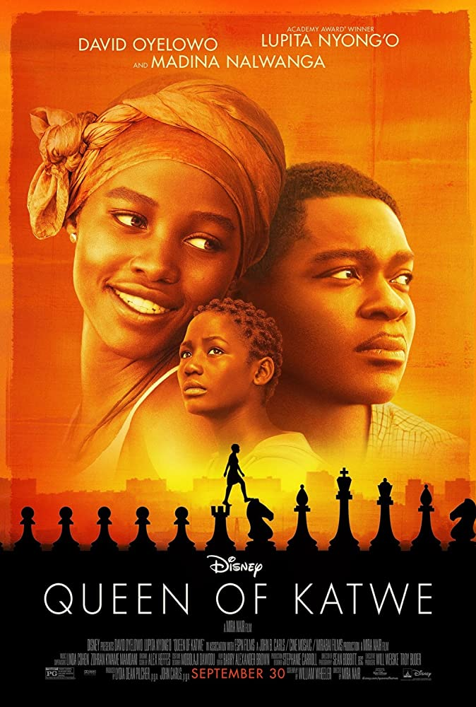 Queen of Katwe 2016 720p HEVC WEB-DL 300MB Movies