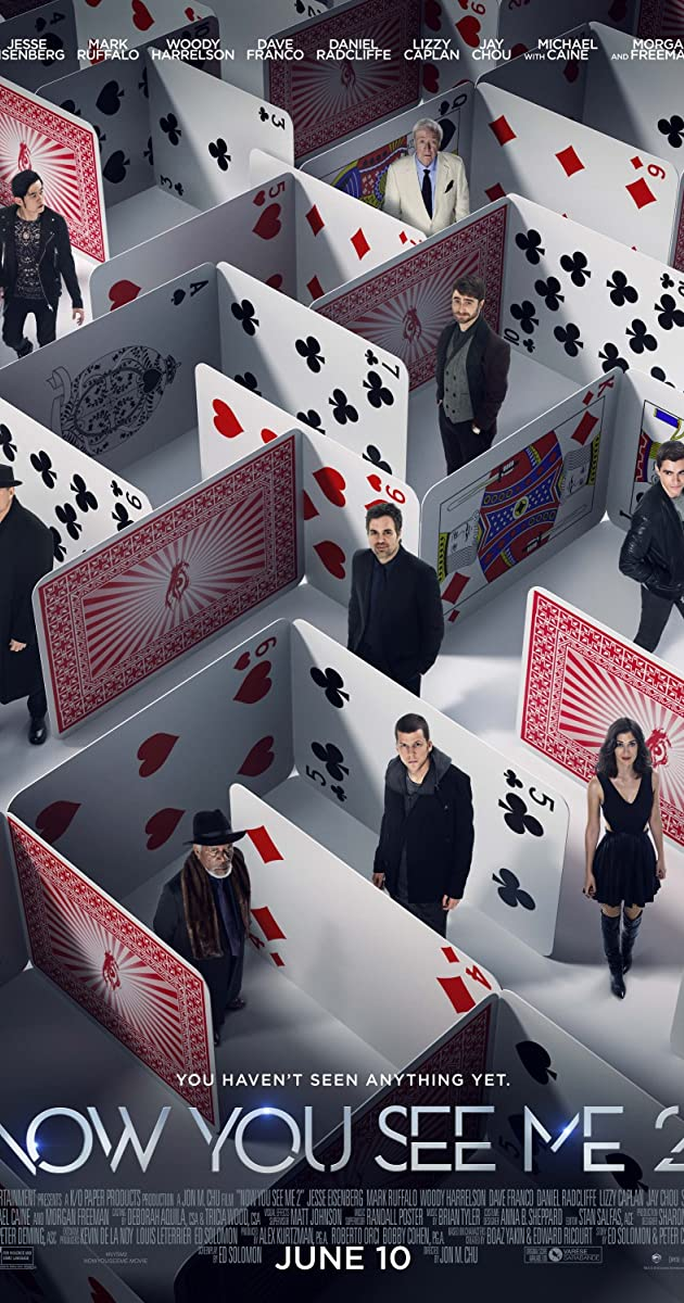 Apgaulės meistrai 2 / Now You See Me 2 (2016) Online