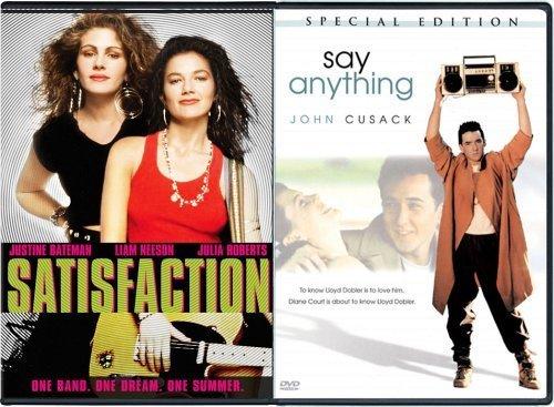 John Cusack, Julia Roberts, and Justine Bateman in Satisfaction (1988)