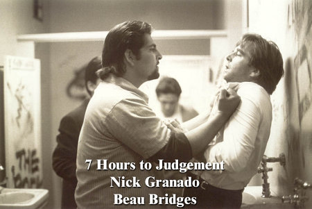 Beau Bridges and Nick Granado in Seven Hours to Judgment (1988)