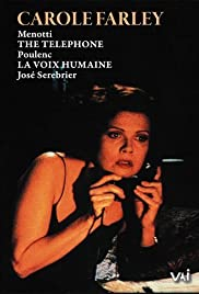 Carole Farley in 'The Telephone' and 'La Voix Humaine' Poster