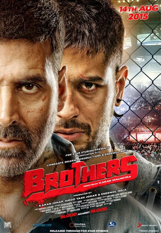 Brothers 2015 Hindi 720p BluRay 300MB Movies