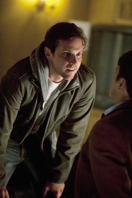 Nathan Fillion and Michael Mosley in Castle (2009)