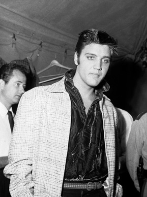 Elvis Presley in Tupelo, Mississippi