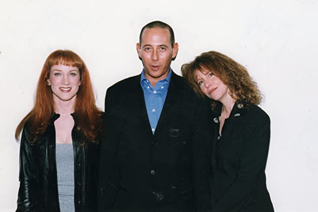 Kathy Griffin, Paul Rubens and Laraine Newman at The Museum of Radio and Television