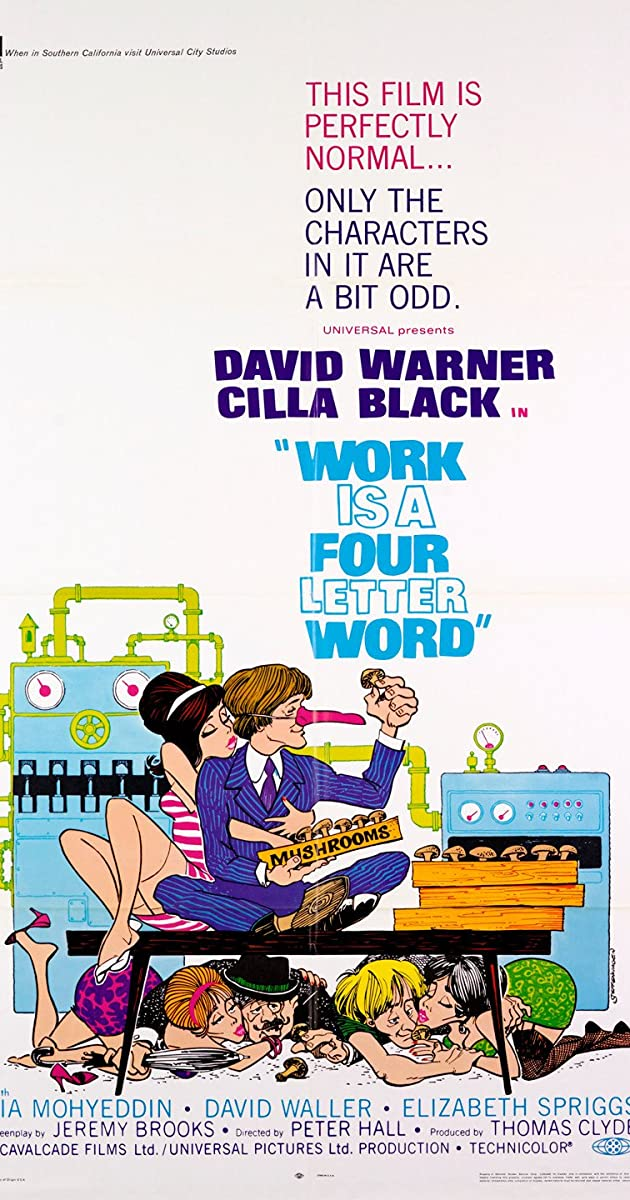 Work Is a 4Letter Word 1968  IMDb