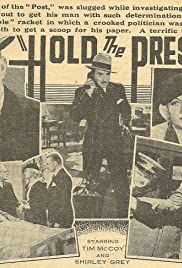 Hold the Press Poster