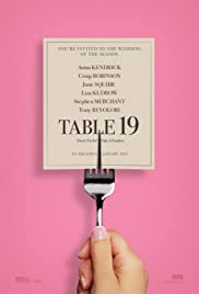 Table 19 (2017) Poster - Movie Forum, Cast, Reviews