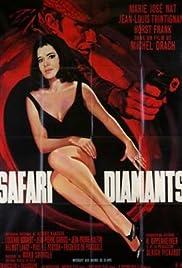 Safari diamants Poster