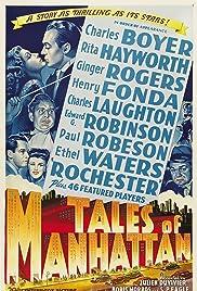 Tales of Manhattan(1942) Poster - Movie Forum, Cast, Reviews