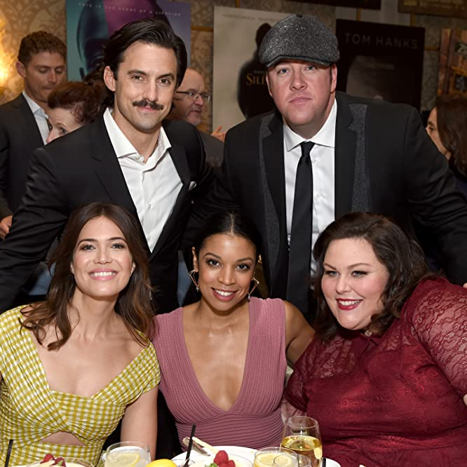 Mandy Moore, Milo Ventimiglia, Susan Kelechi Watson, Chrissy Metz, and Chris Sullivan at an event for This Is Us (2016)