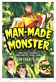 Man-Made Monster Poster