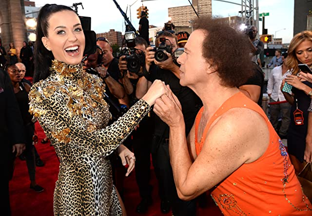 Richard Simmons and Katy Perry at 2013 MTV Video Music Awards (2013)