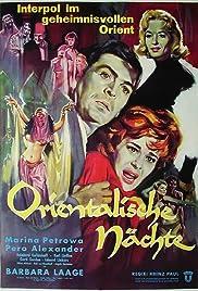 Orientalische Nächte Poster