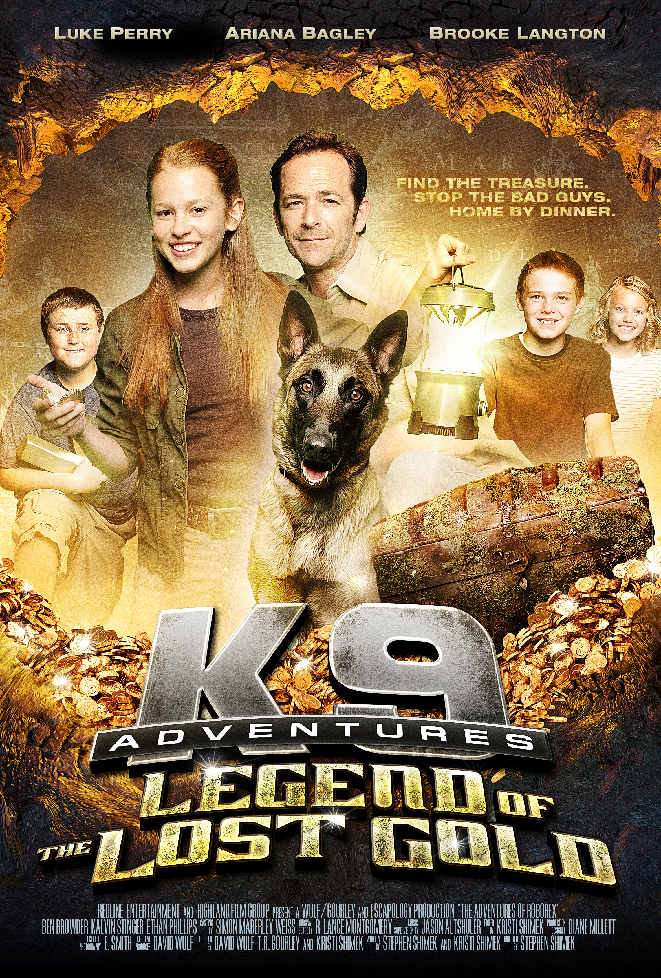 Image K-9 Adventures: Legend of the Lost Gold Watch Full Movie Free Online