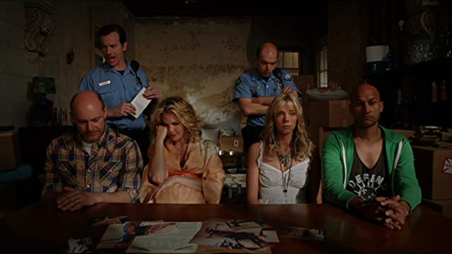 Leslie Bibb, Rob Huebel, Rob Corddry, Paul Scheer, Keegan-Michael Key, and Riki Lindhome in Hell Baby (2013)