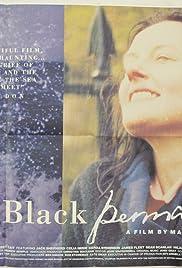 Blue Black Permanent Poster