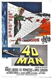 4D Man(1959) Poster - Movie Forum, Cast, Reviews