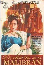 La canción de La Malibrán Poster