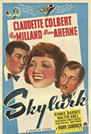 Skylark(1941) Poster - Movie Forum, Cast, Reviews