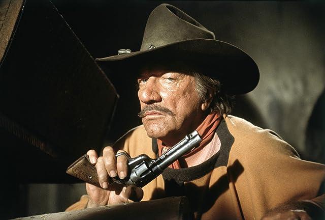 Richard Boone in Big Jake (1971)