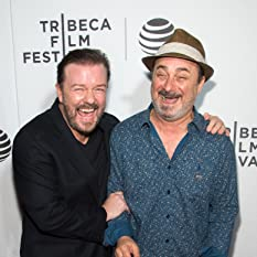 Kevin Pollak and Ricky Gervais