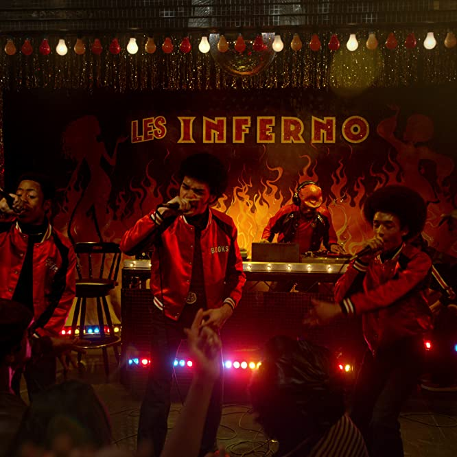 Jaden Smith, Skylan Brooks, Shameik Moore, Justice Smith, and Tremaine Brown Jr. in The Get Down (2016)