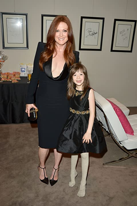 Julianne Moore and Onata Aprile at What Maisie Knew (2012)