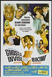 The Ghost in the Invisible Bikini (1966) Poster - Movie Forum, Cast, Reviews