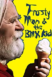Frosty Man and the BMX Kid Poster
