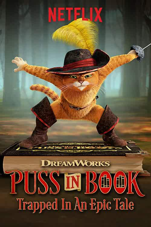 Puss in Book Trapped in an Epic Tale 2017 English 720p WEB-DL full movie watch online freee download at movies365.cc
