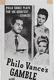 Philo Vance's Gamble Poster