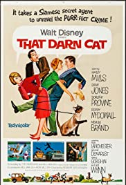 That Darn Cat! (1965) Poster - Movie Forum, Cast, Reviews