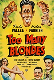 Too Many Blondes Poster