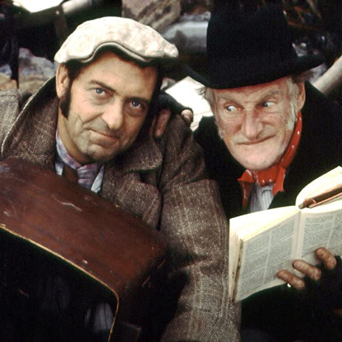 Wilfrid Brambell and Harry H. Corbett in Steptoe and Son (1962)